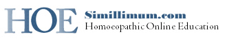 [Homoeopathic Online Education, David Little] Home :  school minimum simillimum lice